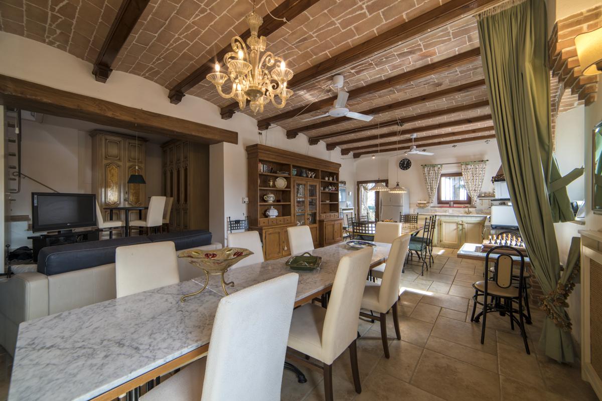 Sala da Pranzo - Villa Pietre Focaie San Gimignano